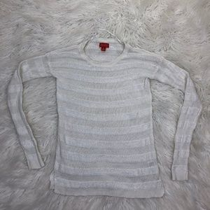 Elle Size XS White Long Sleeve Blouse